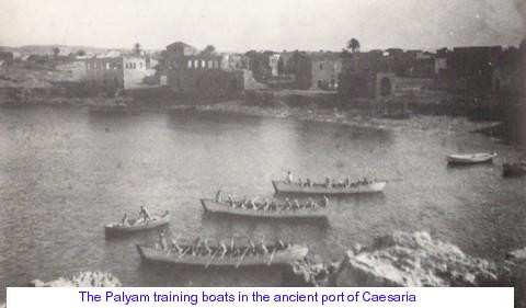 The Palyam boats in Caesarea